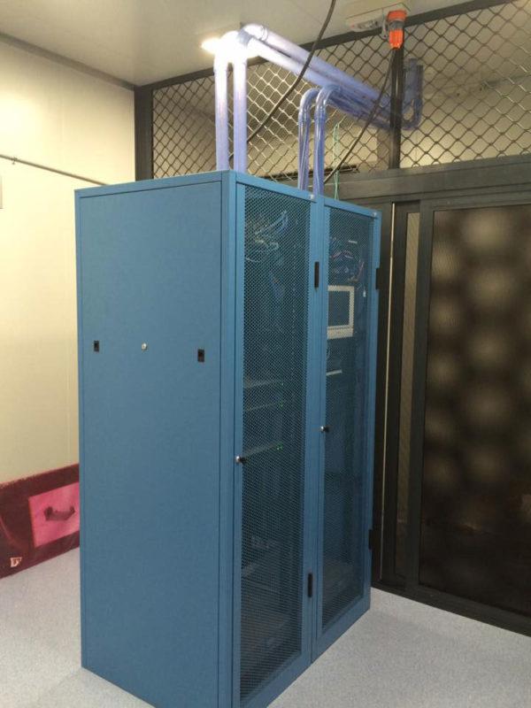 network data storage unit - installation in Exmouth