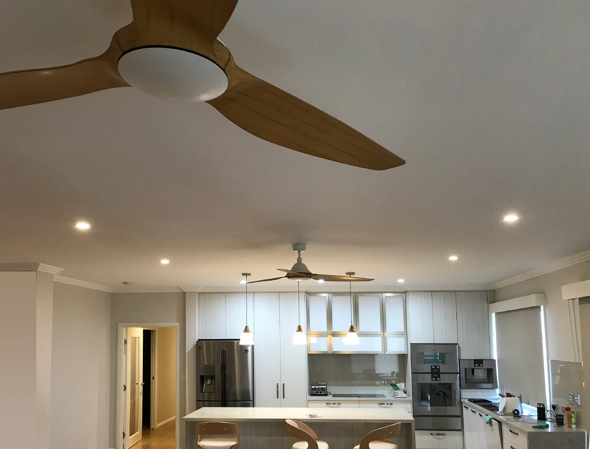 kitchen lights installed by nps electricians